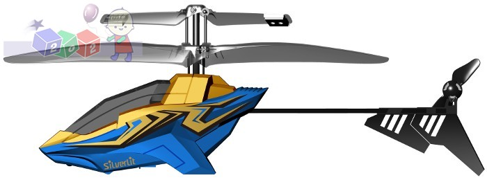 Helikopter zdalnie sterowany 2-kanałowy I/R Air Striker Silverlit
