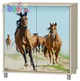 Dwudrzwiowa szafka Baby best z kolekcji Karino 86x81x54 cm