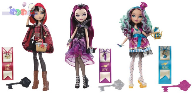 Lalki Rebelsi z akcesoriami Ever After High