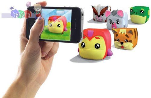 Interaktywne zwierzaki Cupets - zabawka z aplikacją na telefon smartfon tablet
