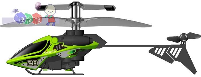 Zdalnie sterowany Helikopter Air Spiral New Silverlit 2 lata gwarancji