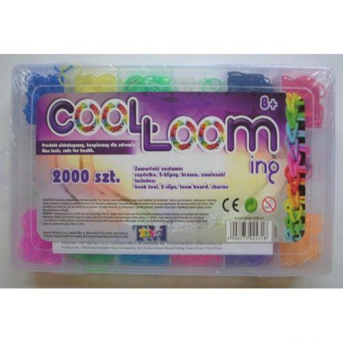 Zestaw do plecenia bransoletek 2000sz - 10 kolorów Tm Toys
