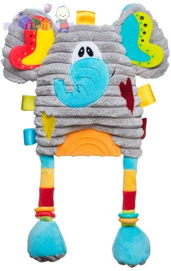 Zabawka do wózka i fotelika BabyOno - słonik 27 cm