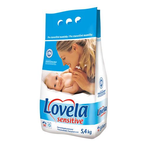 Lovela proszek do prania odzieży niemowlęcej do białego 5kg