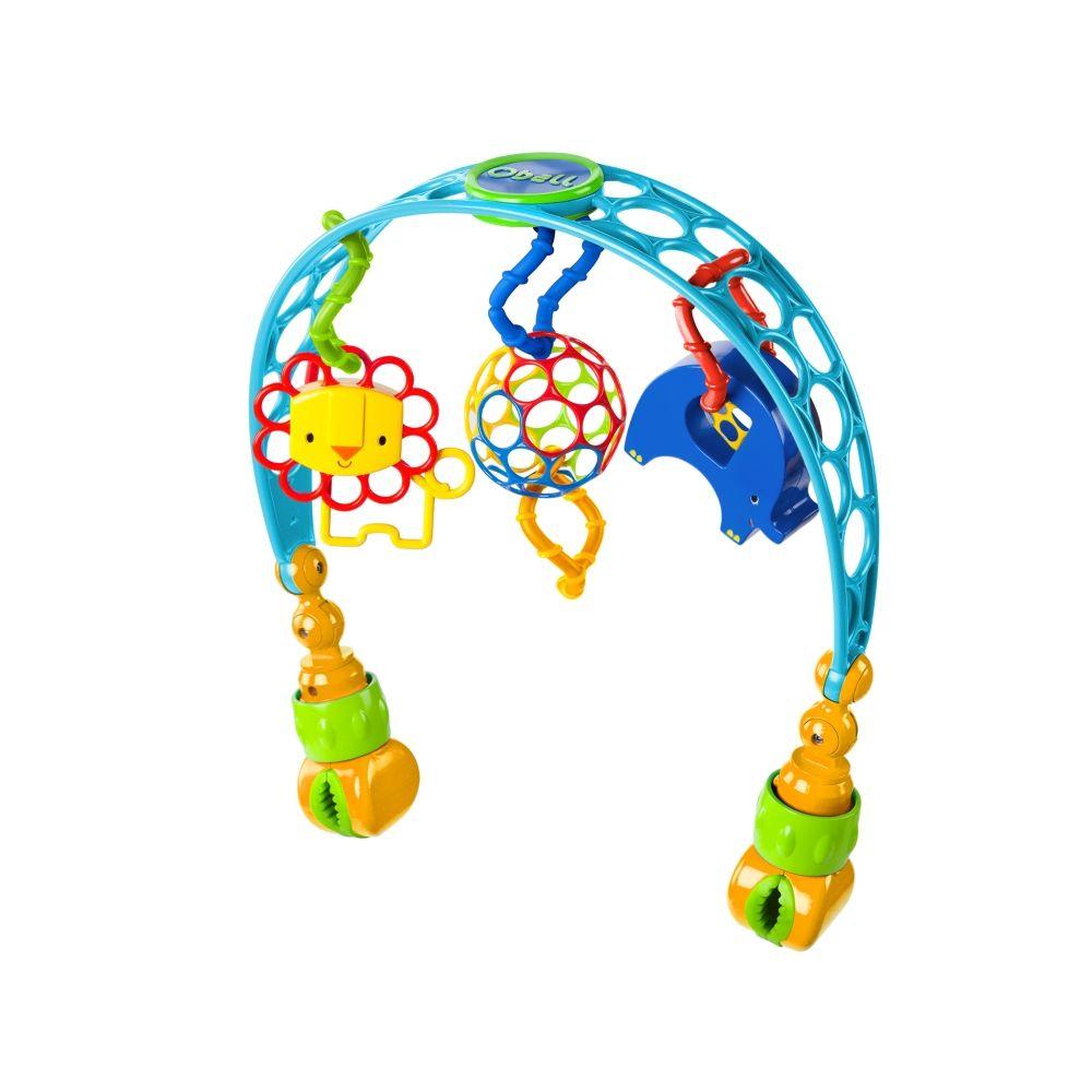 Kolorowy łuk z zabawkami
