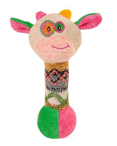 Pluszowa zabawka do rączki Krówka BabyOno