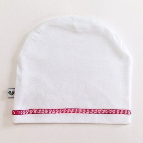Nanaf Organic czapeczka Smerfetka dla niemowląt z miękkiej bawełny Be Purple_86