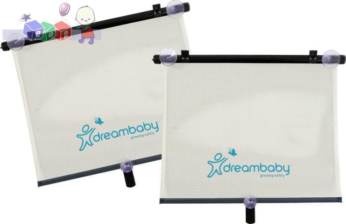 Przeciwsłoneczne rolety samochodowe Dreambaby - szerokie 2 szt.