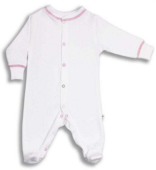 Pajacyk niemowlęcy Be Purple z bawełny organicznej_74