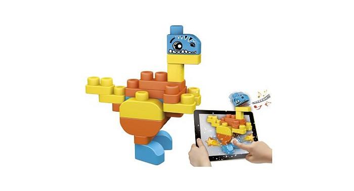 Chicco Klocki Dinozaury 30 szt. z bezpłatną aplikacją na tablet App Toys