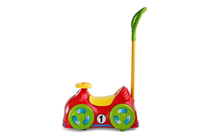 Chicco Jeździdło All Around 2w1 - kolorowe jeździk i pchacz z klaksonem
