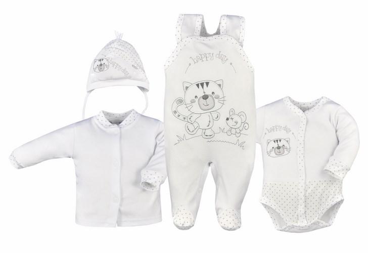 Cztero elementowa wyprawka dla niemowląt Koala Baby