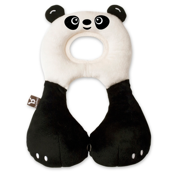 Zagłówek dla dziecka poduszka do fotelika samochodowego zapobiega opadaniu głowy dziecka w podróż 1-4 Lat Panda Benbat