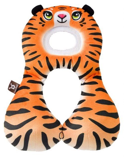 Zagłówek dla dziecka poduszka do fotelika samochodowego zapobiega opadaniu głowy dziecka w podróż 1-4 Lat Tygrys Benbat