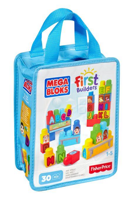 KLocki Mega BLoks w torbie 30 elementów