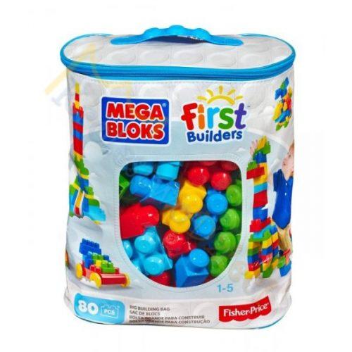 Duża torba z klockami dla dzieci Mega Bloks 80 elementów