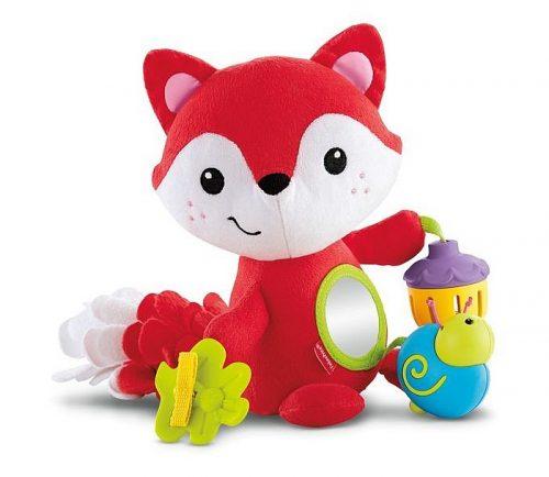 Lisek z zabawkami oraz lustereczkiem Fisher Price
