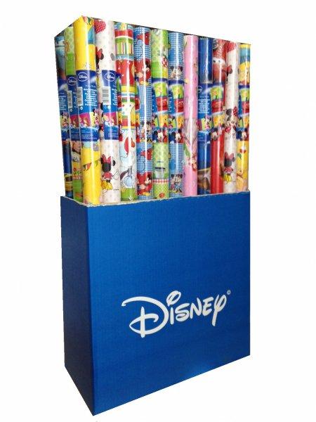 Papier ozdobny do pakowania 2 arkusze Disney - różne postacie i kolory