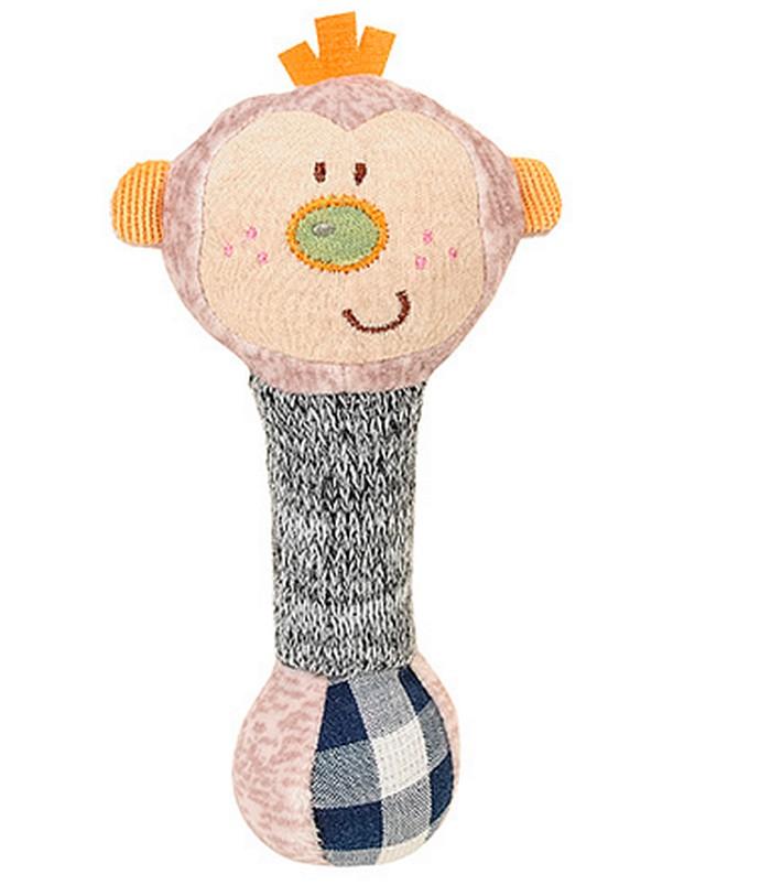 BabyOno Zabawka piszczek  Małpka 6m+