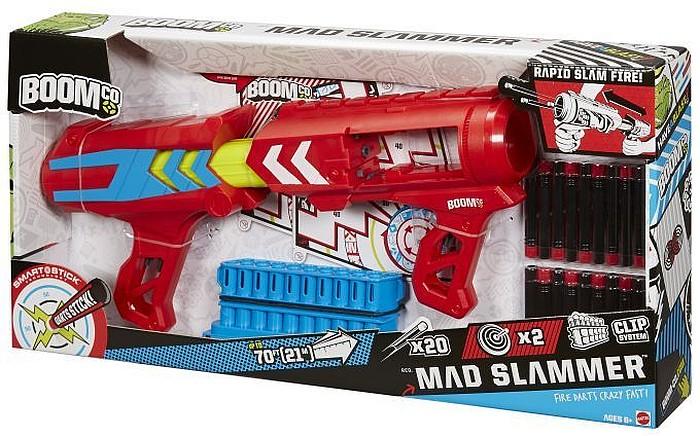 Boomco Mad Slammer magazynek na 20 rzutek zasięg 21 metrów