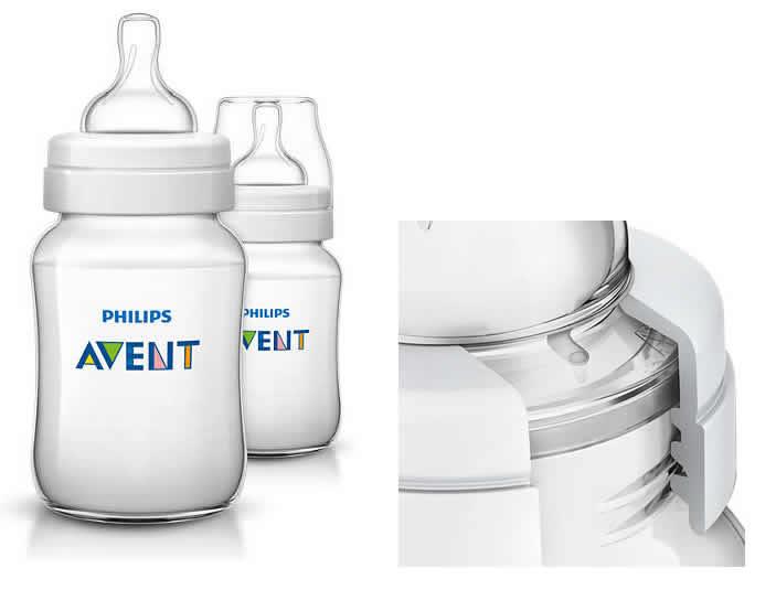 Butelka do karmienia niemowląt i dzieci 260ml 2 szt  SCF 563/27 Avent
