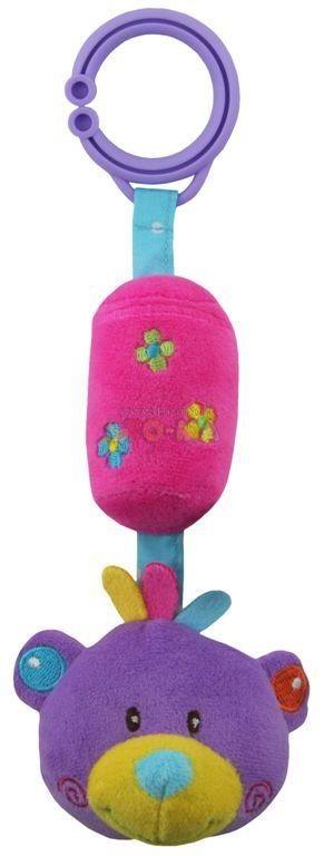 Zabawka podróznaz dzwoneczkiem dla malucha Baby Mix STK-12614