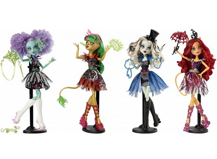 Monster High - Cyrkowe Lalki