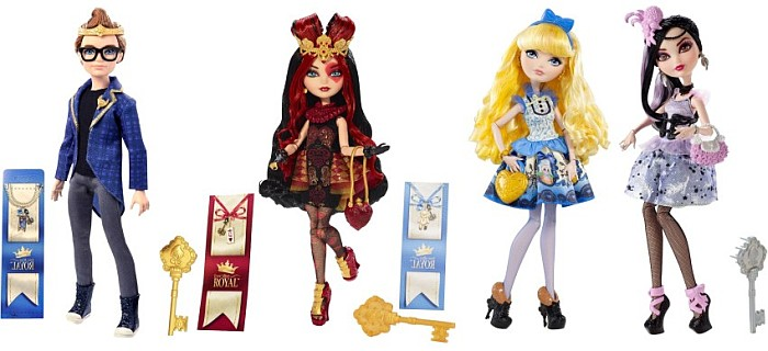 Ever After High - Royalski z podstawką