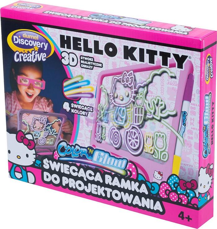 Dumel Świecąca ramka do projektowania Hello Kitty