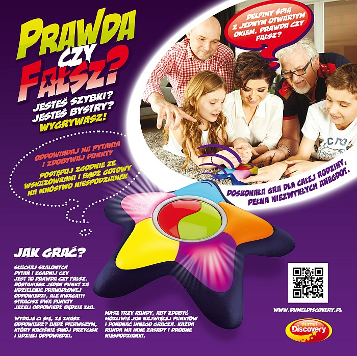 Dumel Discovery Prawda czy fałsz doskonała zabawka dla dzieci i dorosłych HIT!!!