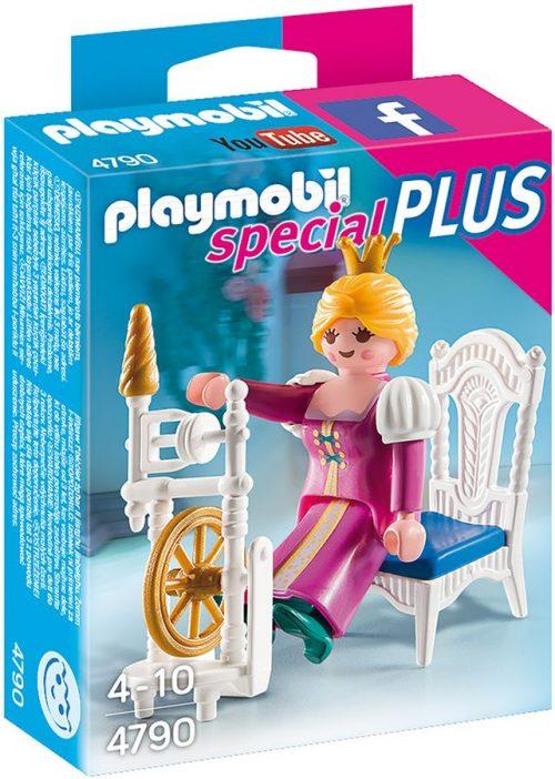 Playmobil księżniczka z kołowrotkiem 4790