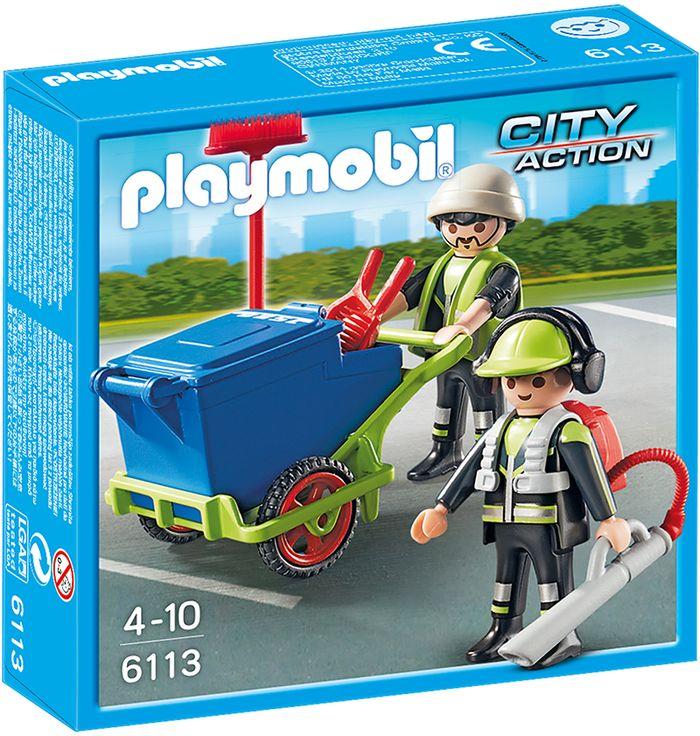 Playmobil zespół sprzątający miasto 6113
