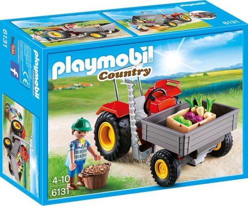 Playmobil traktor ogrodniczy 6131