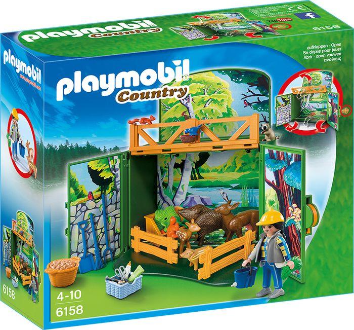 """Playmobil game box """"karmienie leśnych zwierzą 6158"""
