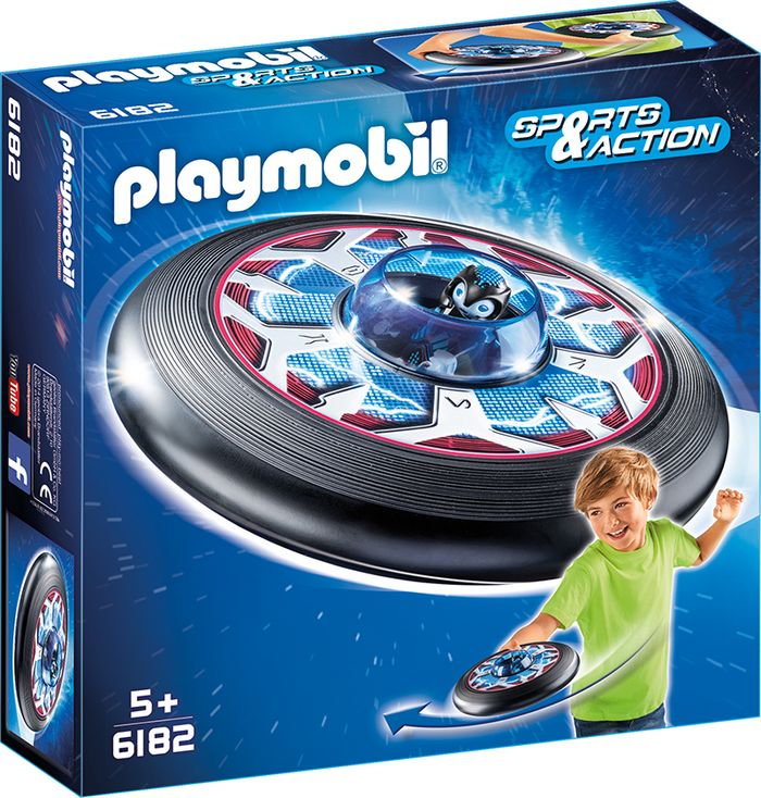 Playmobil frisbee z kosmitą 6182