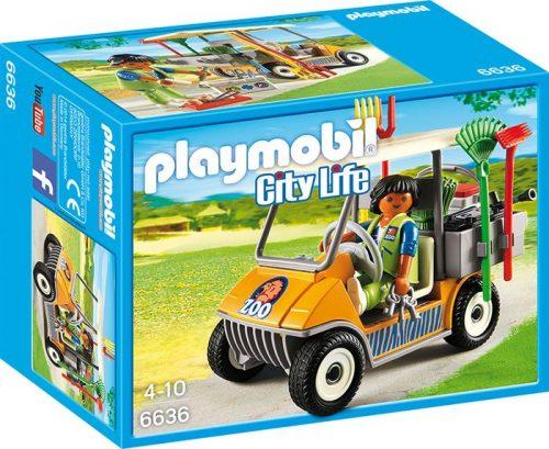 Playmobil samochód zoo 6636