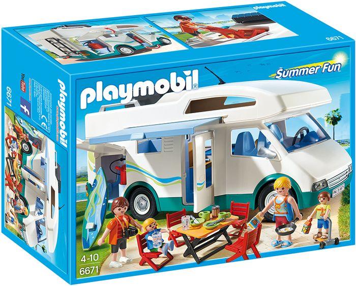 Playmobil rodzinne auto kempingowe  6671