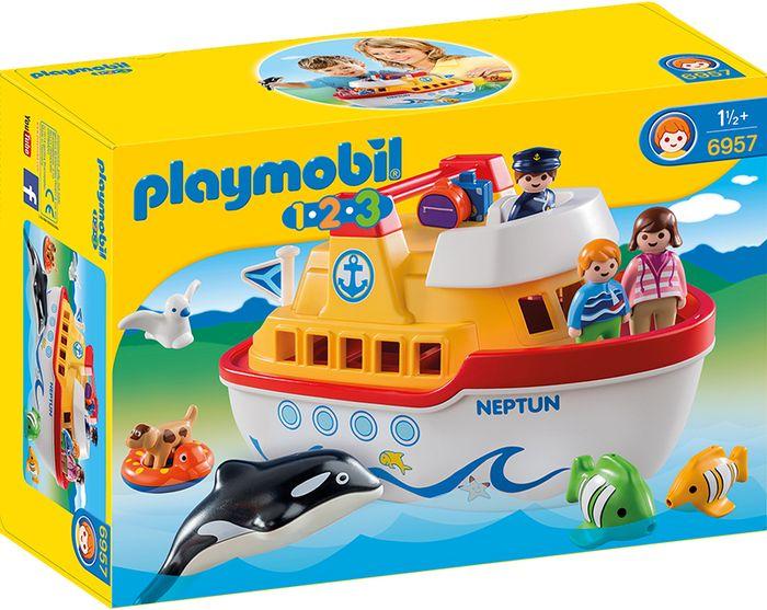 Playmobil mój przenośny statek  6957