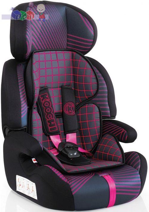 Samochodowy fotelik dziecięcy Koochi MotoHero - dla dzieci od 9 do 36 kg