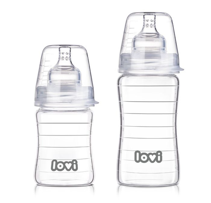 Butelka szklana Diamond Glass 250 ml - Lovi