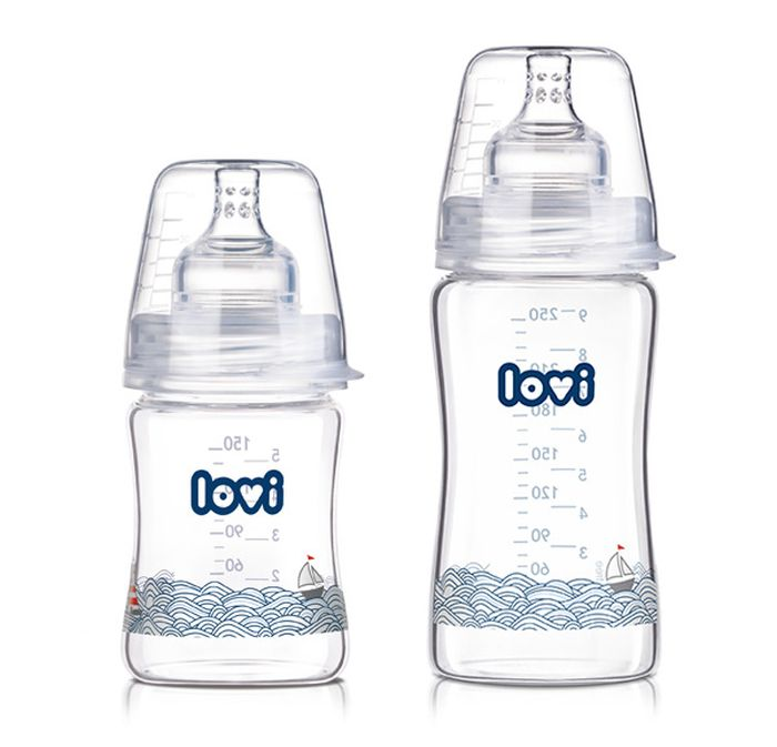 Butelka szklana Diamond Glass Marine 250 ml - Lovi