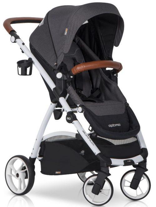 Wielofunkcyjny, wygodny wózek spacerowy wykonany z wysokiej jakości materiałów Easy Go Optimo
