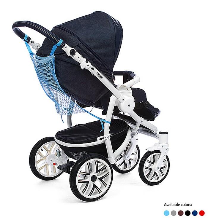 Praktyczna siatka na zakupy do zamocowania na wózku BabyOno