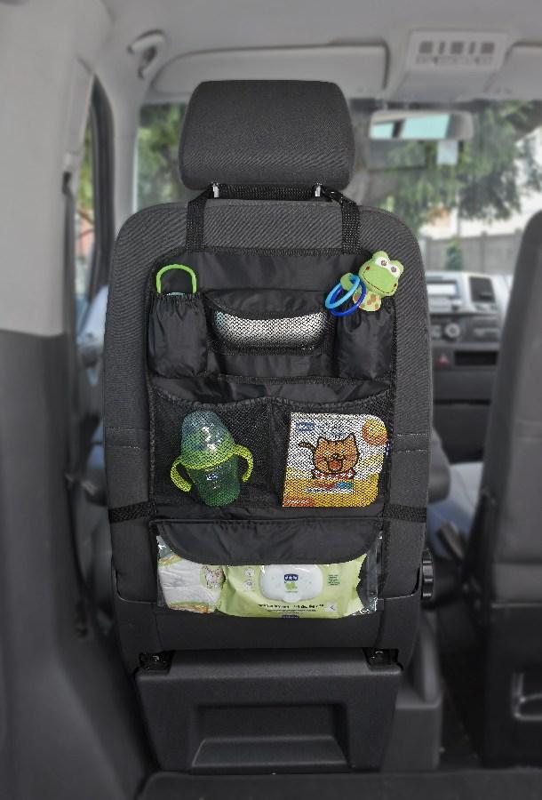 Chicco organizer na przedni fotel do samochodu Black