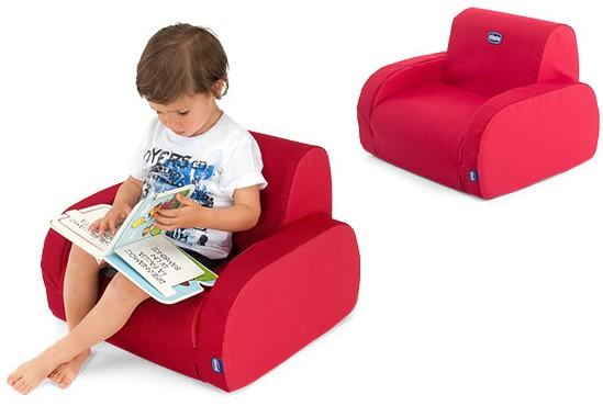 Miękki rozkładany fotelik Twist firmy Chicco dla dzieci 1-5 lat