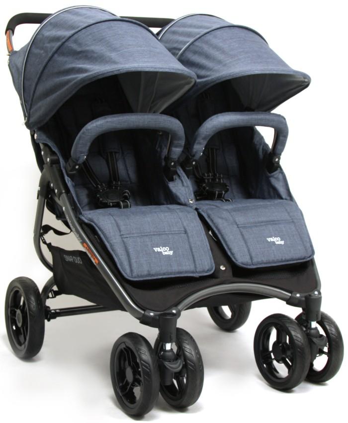 Ultralekki kompaktowy wózek spacerowy podwójny Valco Baby Snap Duo - Tailor Made 9,8 kg