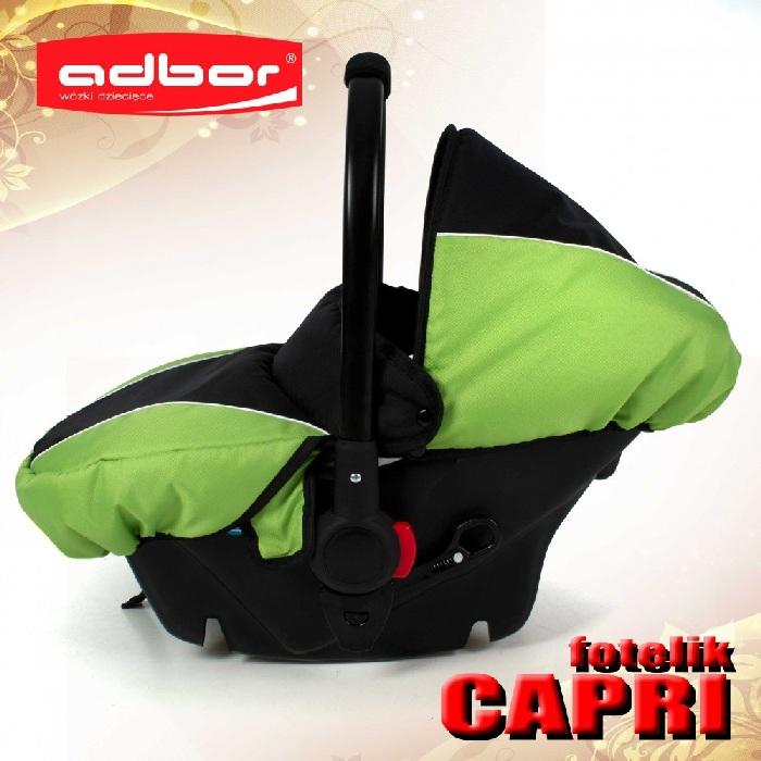 Fotelik samochodowy Cappri 0-10 kg Adbor