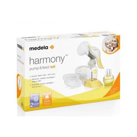 Laktator Harmony Pump & Feed Set w zestawie Calma + wkładki laktacyjne