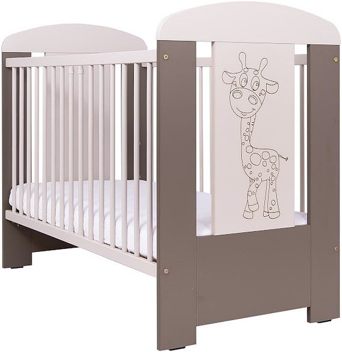 Łóżeczko dziecięce 120x60 Żyrafka, Drewex