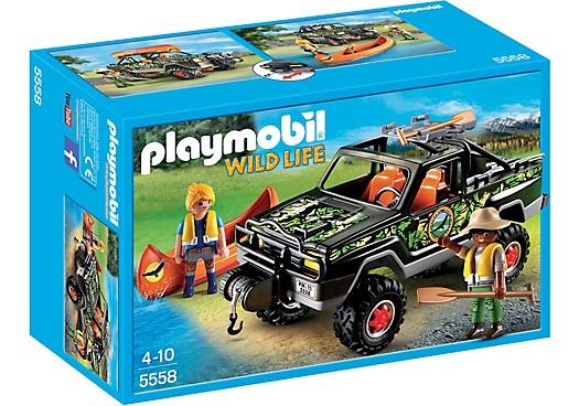 Playmobil Przygoda samochodem terenowym 5558